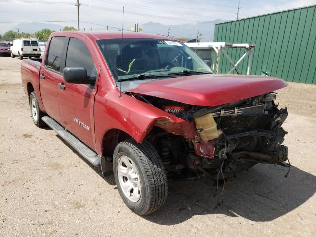 Salvage cars for sale from Copart Colorado Springs, CO: 2005 Nissan Titan XE