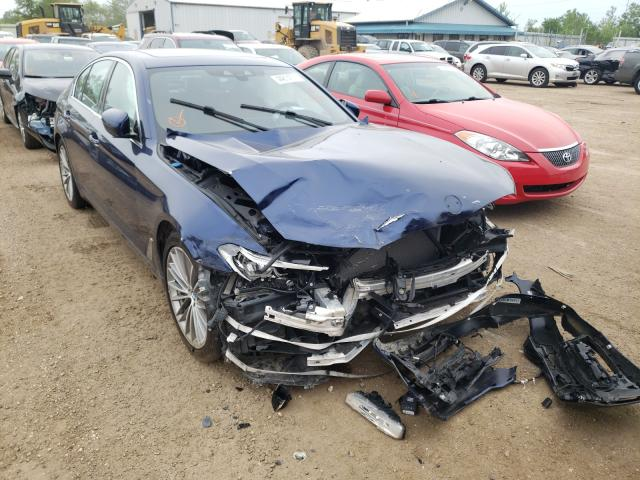 Salvage cars for sale from Copart Pekin, IL: 2017 BMW 540 XI