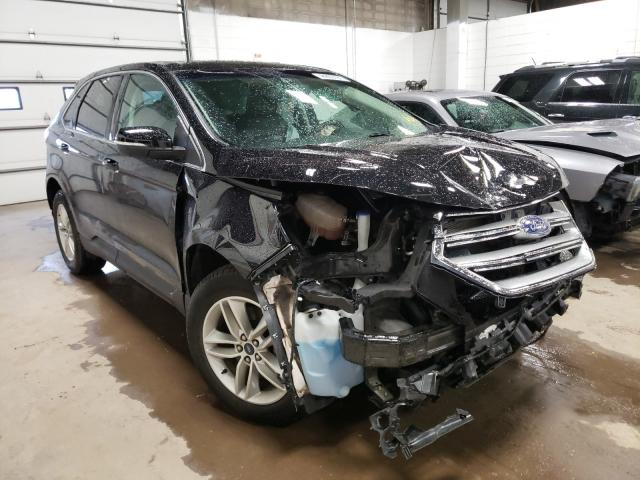 Salvage cars for sale from Copart Blaine, MN: 2017 Ford Edge SEL