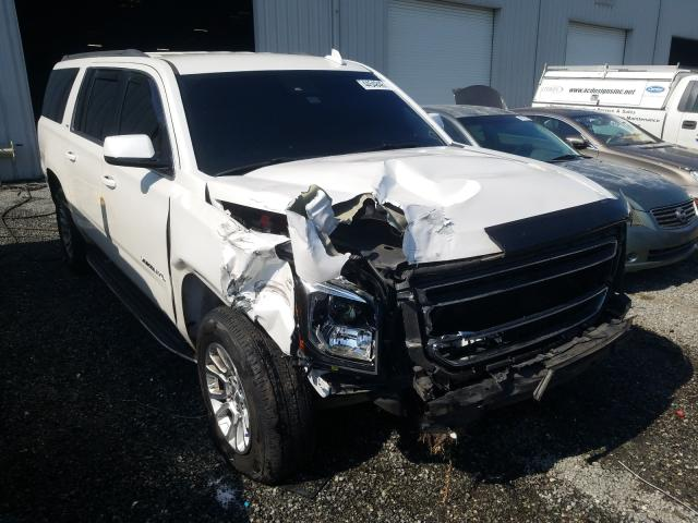 Salvage cars for sale from Copart Jacksonville, FL: 2016 GMC Yukon XL C