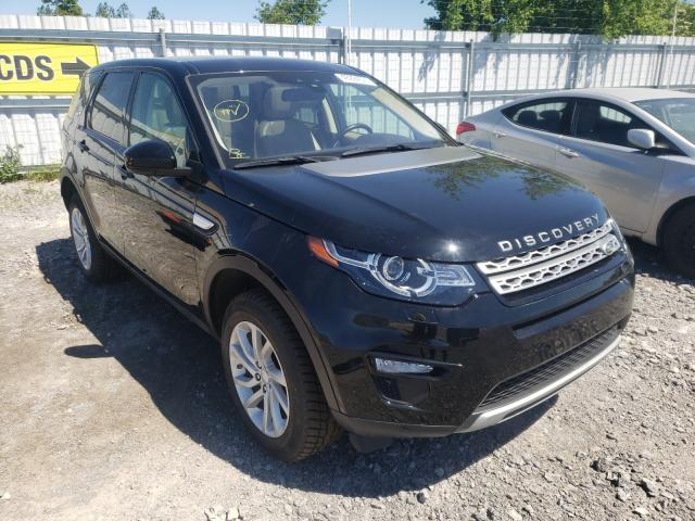 Salvage cars for sale from Copart Ontario Auction, ON: 2018 Land Rover Discovery