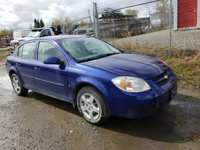 Salvage cars for sale from Copart Rocky View County, AB: 2007 Chevrolet Cobalt LT