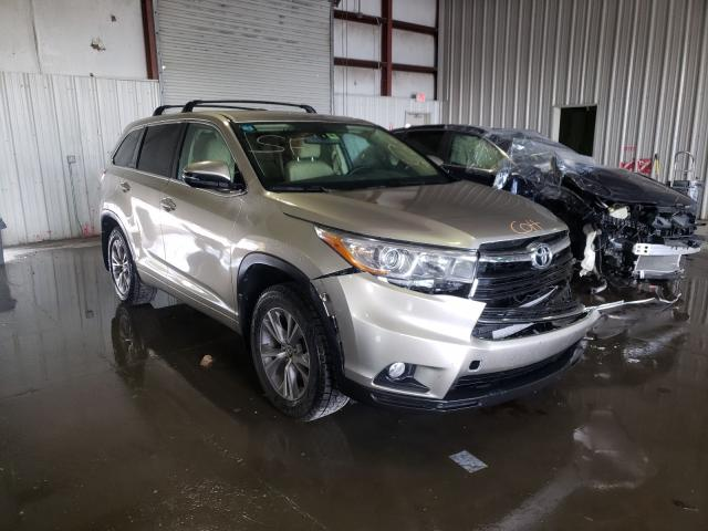 Salvage cars for sale from Copart Albany, NY: 2016 Toyota Highlander