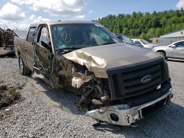 Salvage cars for sale from Copart Hurricane, WV: 2012 Ford F150 Super