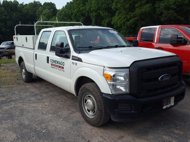 Salvage cars for sale from Copart York Haven, PA: 2016 Ford F250 Super