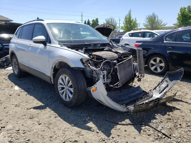 Salvage cars for sale from Copart Eugene, OR: 2018 Volkswagen Tiguan S
