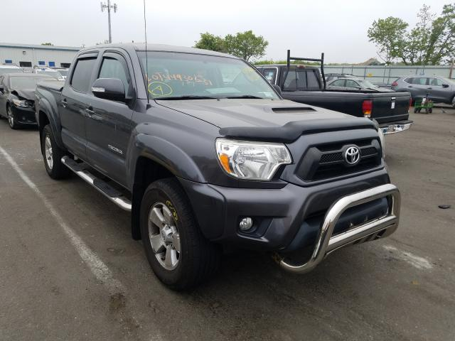Salvage cars for sale from Copart Brookhaven, NY: 2014 Toyota Tacoma DOU