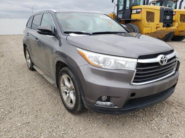 Vehiculos salvage en venta de Copart Bismarck, ND: 2016 Toyota Highlander