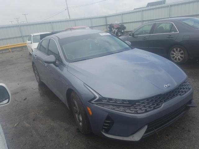 Salvage cars for sale from Copart Dyer, IN: 2021 KIA K5 LXS
