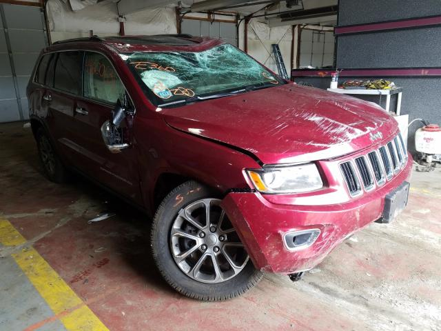 Salvage cars for sale from Copart Lyman, ME: 2015 Jeep Grand Cherokee