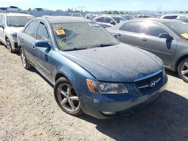 Salvage cars for sale from Copart Anderson, CA: 2006 Hyundai Sonata GLS