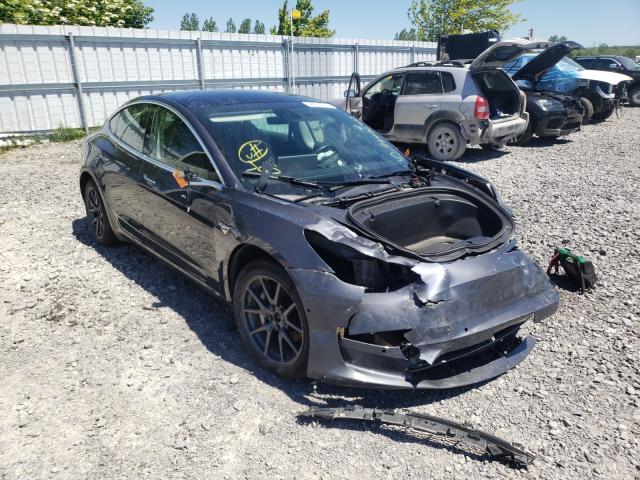Salvage cars for sale from Copart Ontario Auction, ON: 2019 Tesla Model 3