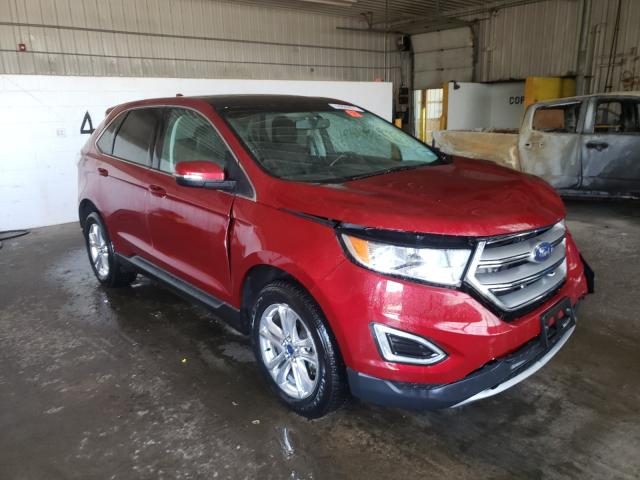 2015 Ford Edge SEL en venta en Candia, NH
