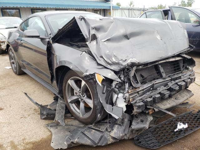 Salvage cars for sale from Copart Pekin, IL: 2015 Ford Mustang