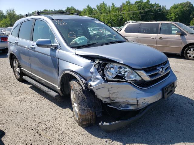 Salvage cars for sale from Copart Fredericksburg, VA: 2010 Honda CR-V EXL