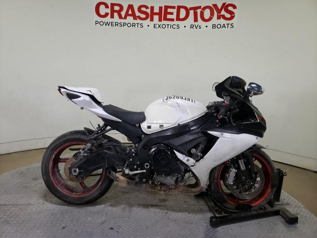 Salvage motorcycles for sale at Dallas, TX auction: 2017 Suzuki GSX-R750