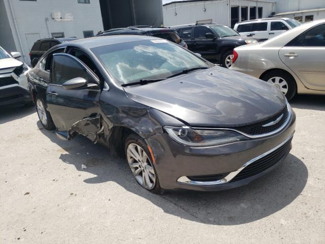 Chrysler 200 salvage cars for sale: 2015 Chrysler 200