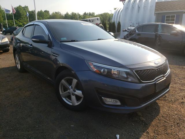 Salvage cars for sale at East Granby, CT auction: 2015 KIA Optima LX