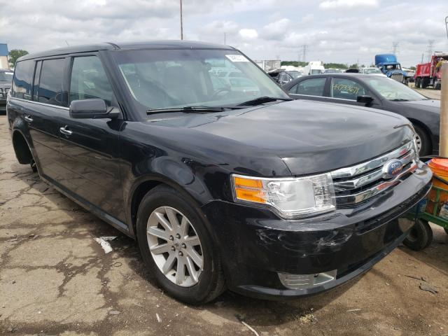 Salvage cars for sale from Copart Woodhaven, MI: 2010 Ford Flex SEL