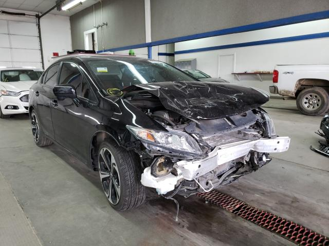 Salvage cars for sale from Copart Pasco, WA: 2015 Honda Civic SI