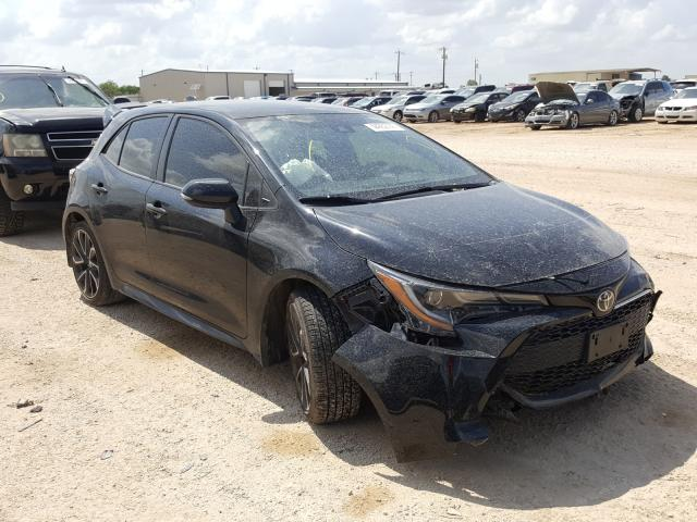 Salvage cars for sale from Copart San Antonio, TX: 2019 Toyota Corolla SE