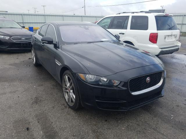 Salvage cars for sale from Copart Dyer, IN: 2017 Jaguar XE Prestige