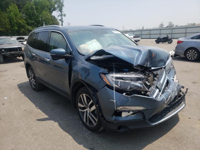 Salvage cars for sale from Copart Dunn, NC: 2017 Honda Pilot Touring