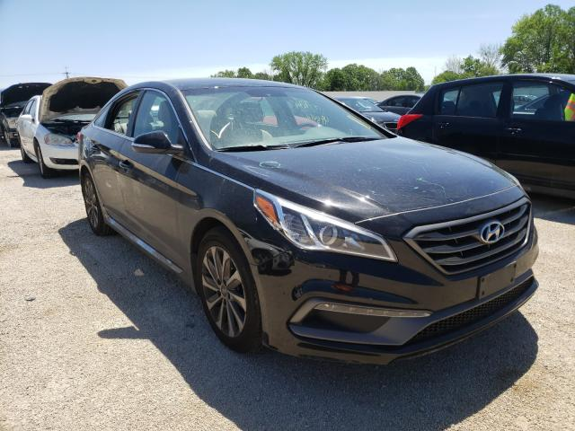 Salvage cars for sale from Copart Milwaukee, WI: 2016 Hyundai Sonata Sport
