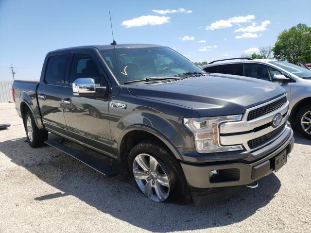 Salvage cars for sale from Copart Milwaukee, WI: 2019 Ford F150 Super