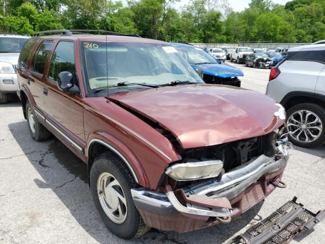 Salvage cars for sale from Copart Ellwood City, PA: 1998 Chevrolet Blazer