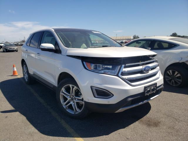 Salvage cars for sale from Copart Sacramento, CA: 2015 Ford Edge