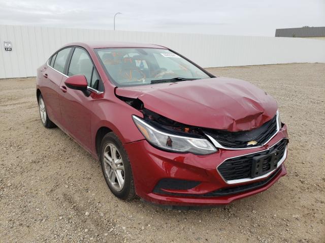 Vehiculos salvage en venta de Copart Bismarck, ND: 2018 Chevrolet Cruze LT