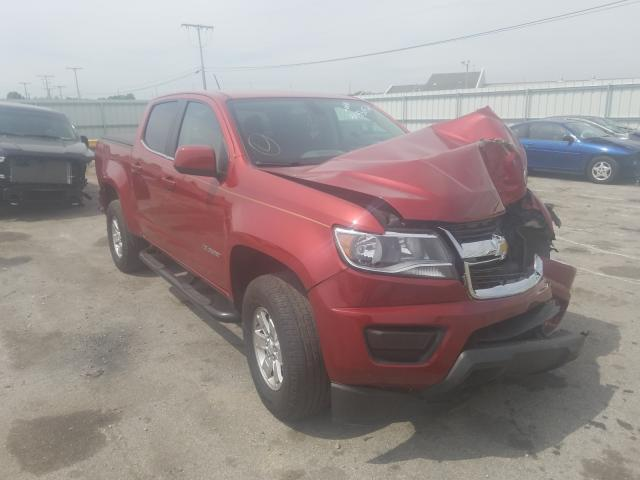Salvage cars for sale from Copart Dyer, IN: 2016 Chevrolet Colorado