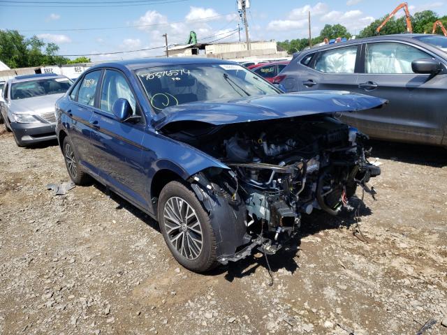 Salvage cars for sale from Copart Hillsborough, NJ: 2021 Volkswagen Jetta S