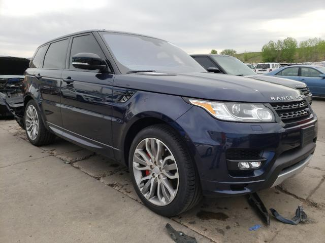 Land Rover salvage cars for sale: 2016 Land Rover Range Rover