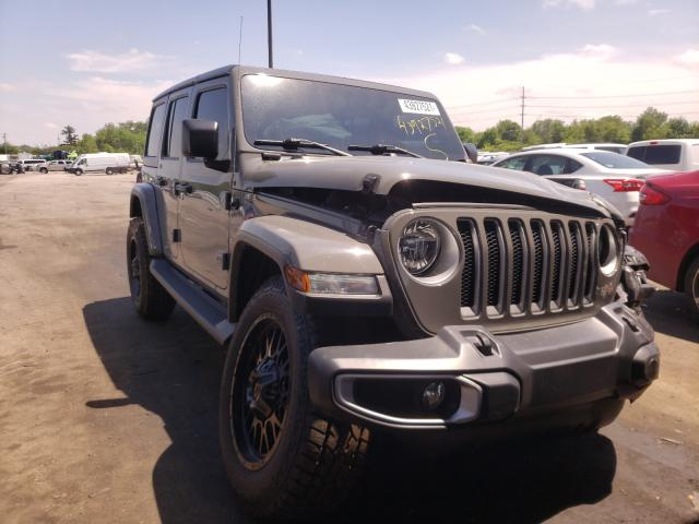 Salvage cars for sale from Copart Fort Wayne, IN: 2018 Jeep Wrangler U