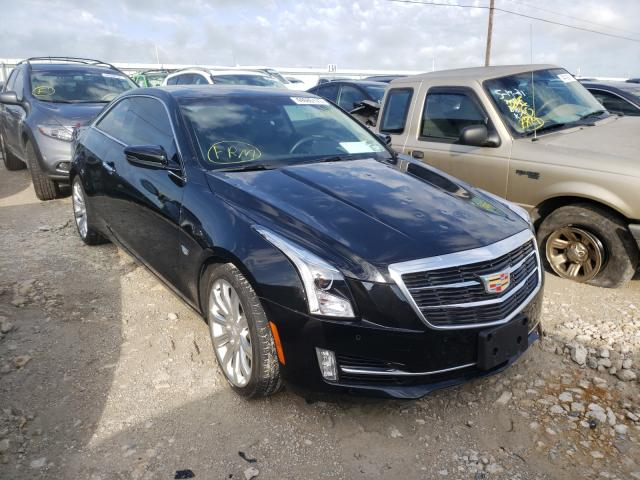Salvage cars for sale from Copart Haslet, TX: 2018 Cadillac ATS Luxury