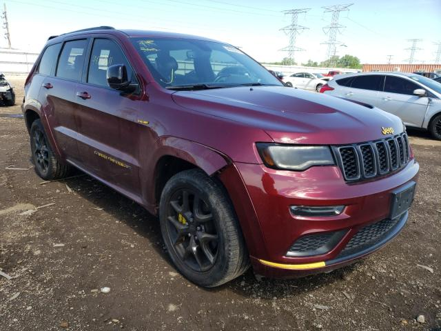 Salvage cars for sale from Copart Elgin, IL: 2019 Jeep Grand Cherokee