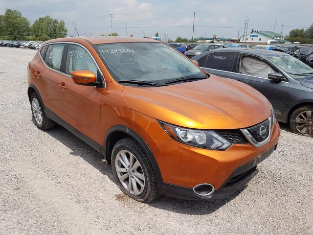 Salvage cars for sale from Copart Ontario Auction, ON: 2018 Nissan Qashqai