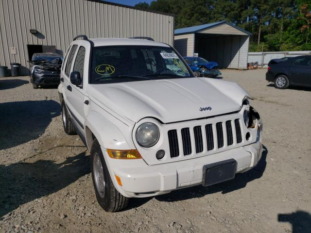 Salvage cars for sale from Copart Seaford, DE: 2007 Jeep Liberty SP