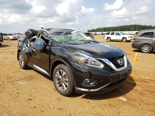Salvage cars for sale from Copart Longview, TX: 2018 Nissan Murano S