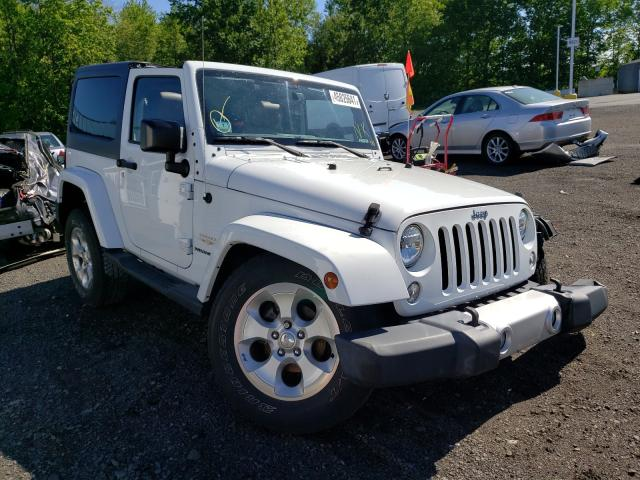 Salvage cars for sale from Copart East Granby, CT: 2015 Jeep Wrangler S