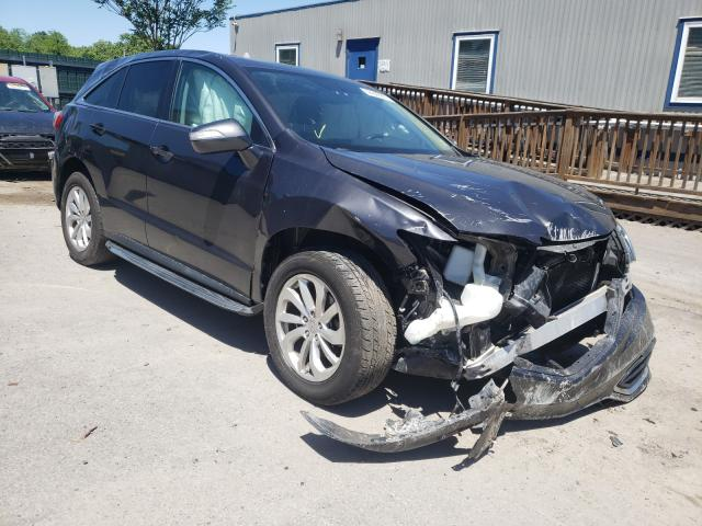 Salvage cars for sale from Copart Duryea, PA: 2016 Acura RDX