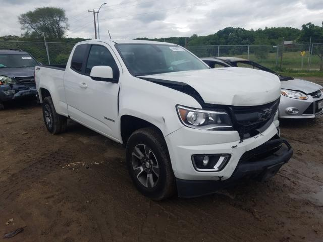 Salvage cars for sale from Copart Madison, WI: 2017 Chevrolet Colorado Z