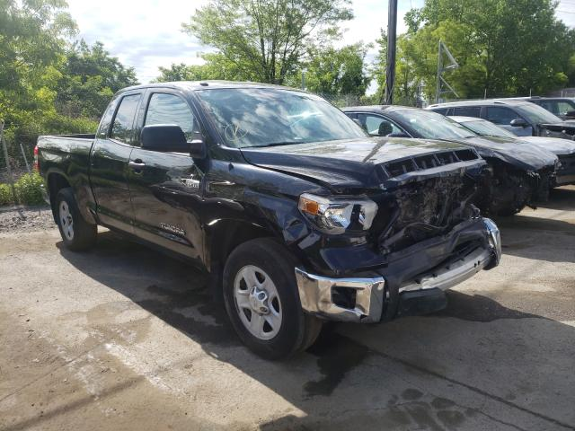 Salvage cars for sale from Copart Marlboro, NY: 2019 Toyota Tundra DOU