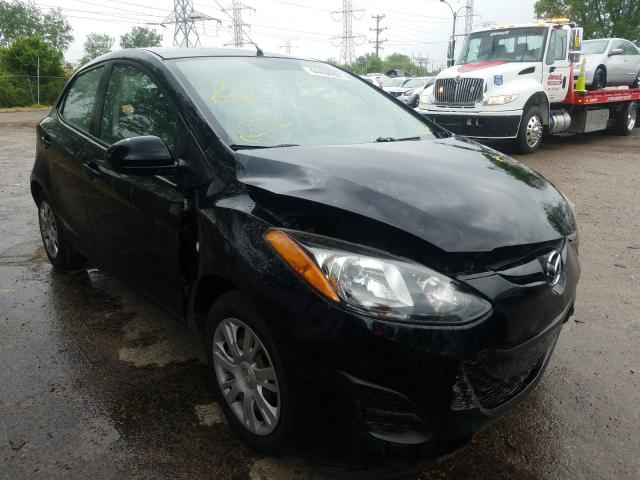 Salvage cars for sale from Copart Wheeling, IL: 2013 Mazda 2
