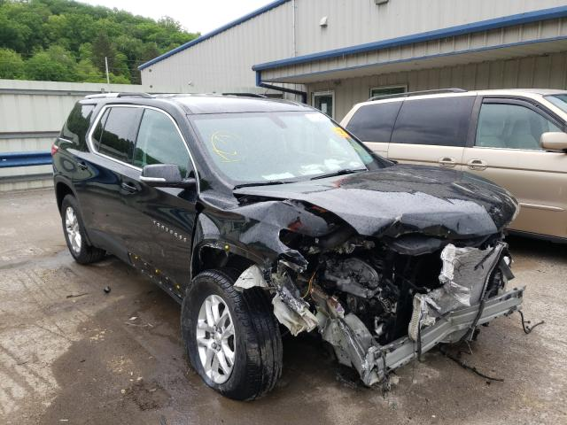 Salvage cars for sale from Copart Ellwood City, PA: 2018 Chevrolet Traverse L