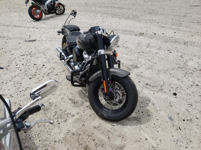 Salvage motorcycles for sale at Candia, NH auction: 2019 Harley-Davidson Flsl