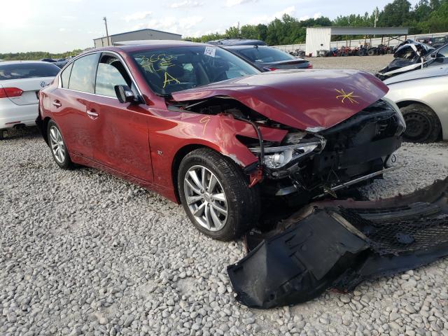 Infiniti salvage cars for sale: 2014 Infiniti Q50 Base