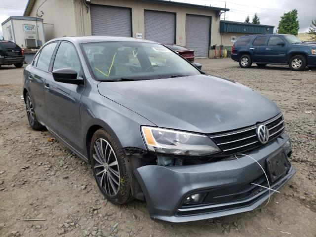 Salvage cars for sale from Copart Eugene, OR: 2016 Volkswagen Jetta Sport